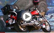 Vikingbags Lamellar Large Black Hard Saddlebags Installation Video