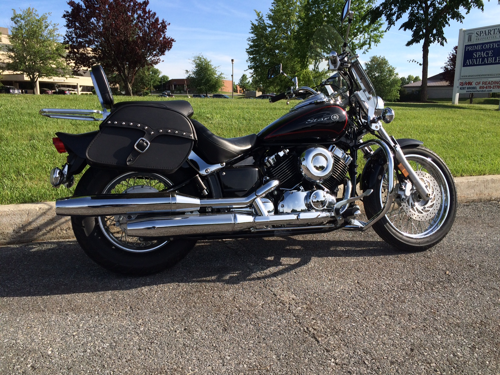 Yamaha V Star Motorcycle Luggage Customer Photo Gallery