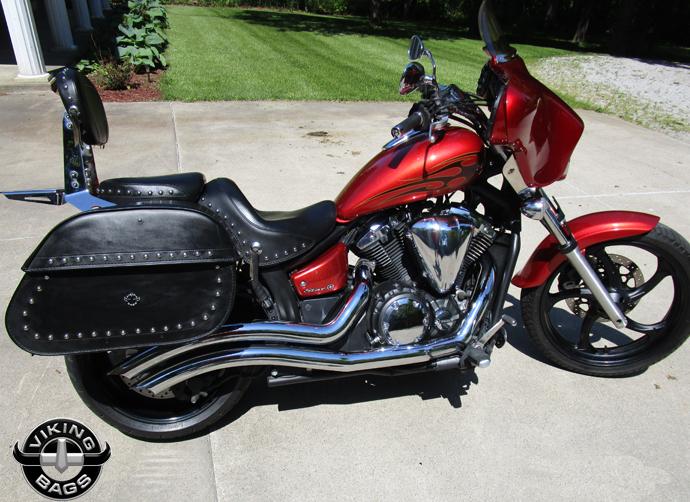 Yamaha motorcycle luggage customer photo gallery for Yamaha stryker saddlebags