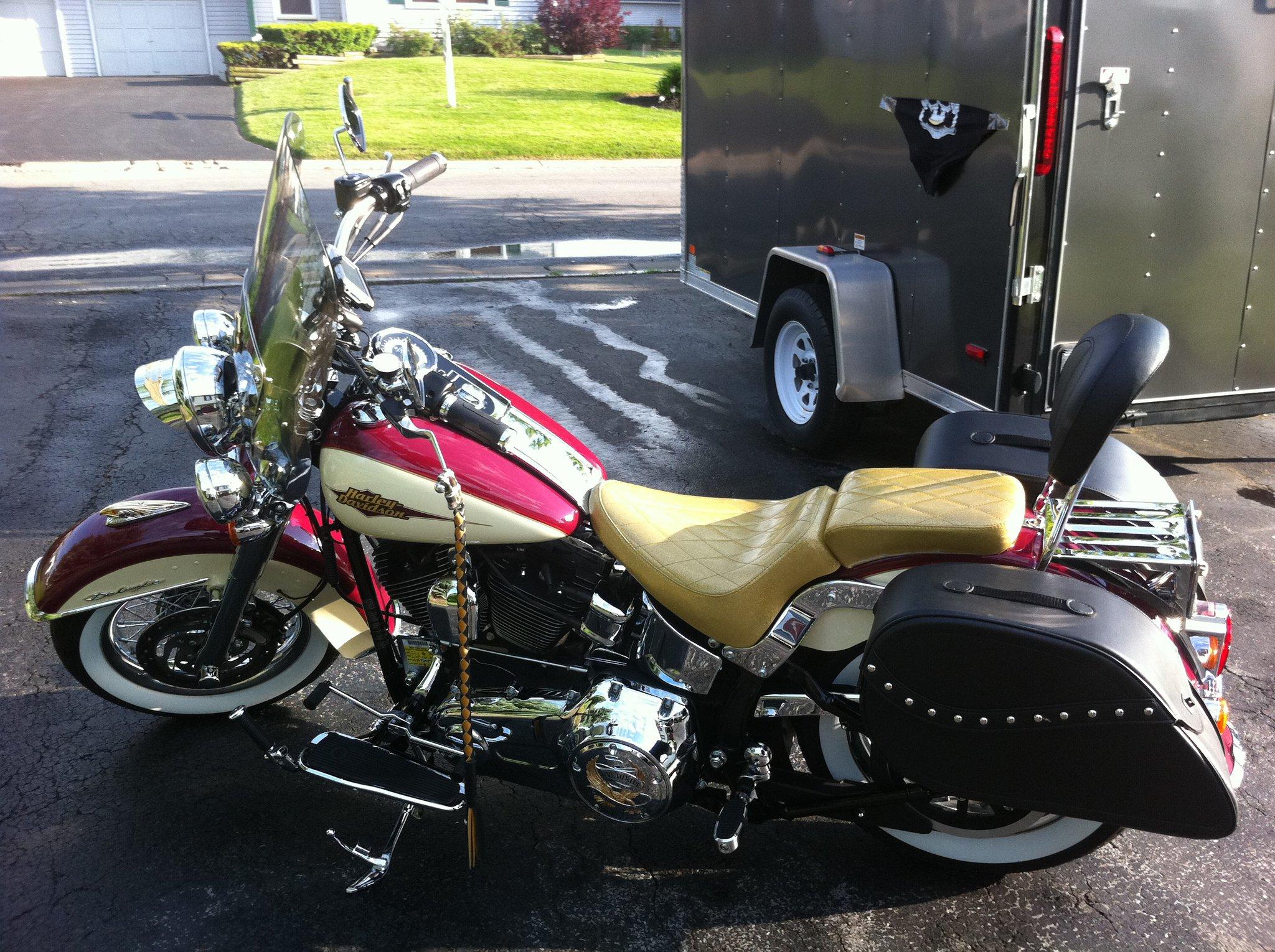 Kawasaki vulcan 900 classic saddlebags large ultimate for Yamaha raider hard saddlebags