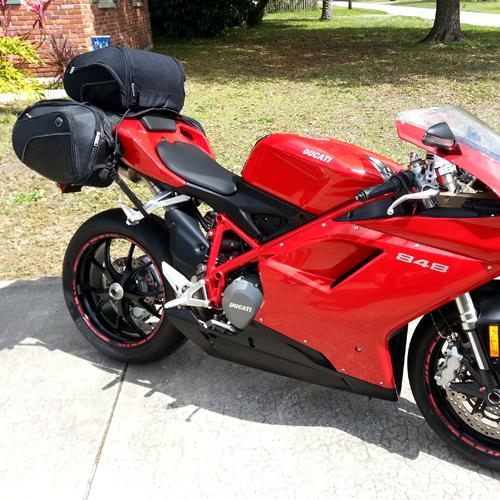 Viking Street Bike Sport Motorcycle Tail Bag At Viking Bags