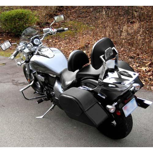 Yamaha v star 650 custom motorcycle saddlebags medium for Yamaha raider hard saddlebags