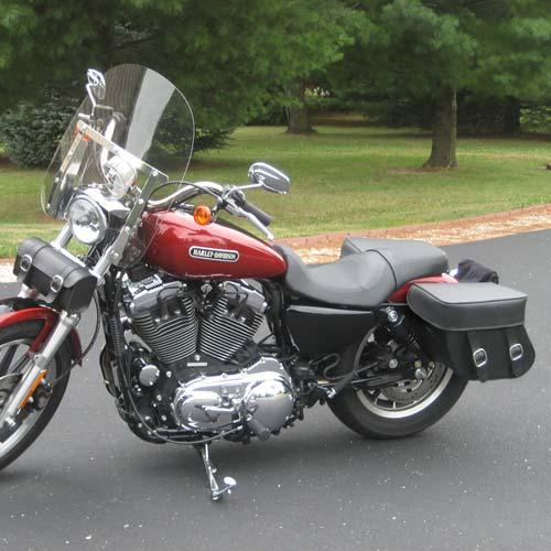 Honda cmx 250c rebel 250 motorcycle saddlebags concord for Motor cycle saddle bags