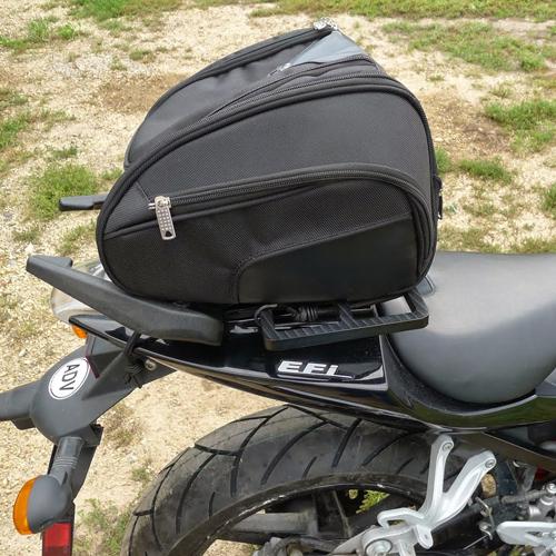 Viking Bags Street Bike Sport Cordura Motorcycle Tail Bag