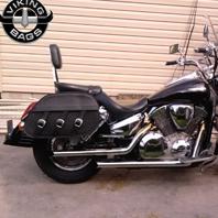 04 Honda VTX 1300 S w/ Trianon Motorcycle Saddlebags