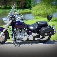 00 Yamaha Road Star w/ Rondo Motorcycle Saddlebags