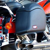 Honda Valkyrie w/ Lamellar Hard Saddlebags