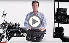 Thor Series Small Harley Saddlebags Installation Video