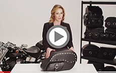 Charger Side Pocket Studded Harley Saddlebags Installation Video