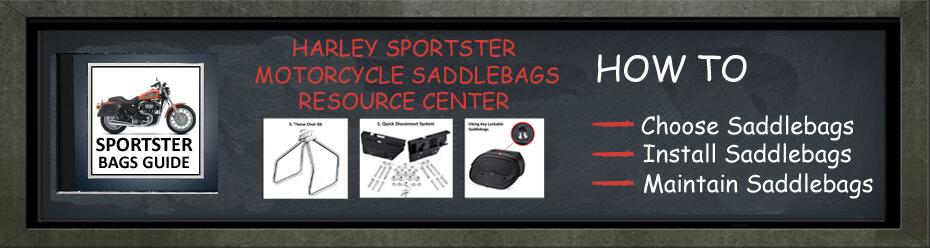 Harley Sportste Motorcycle Saddlebags Guide