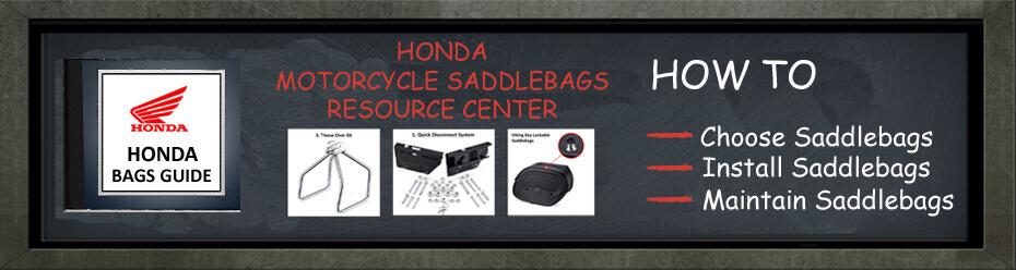 Honda Motorcycle Saddlebags Resource Guide