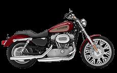 Harley Soprtster 883 Custom Saddlebags