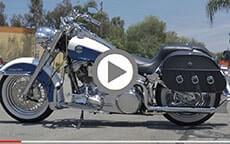 Harley Sportster customer motorcycle Bags videos 2