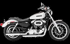 Harley Sportster 1200 Low Saddlebags
