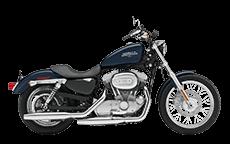 Harley Soprtster Sportser 883 Low Saddlebags