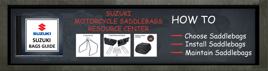 Suzuki Motorcycle Saddlebags Resource Center