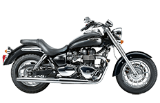 Triumph America Saddlebags