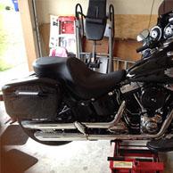 13 Harley-Davidson Softail Slim w/ Lamellar Painted Hard Saddlebags