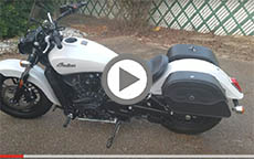 2016 Indian Scout Motorcycle Saddlebags Review