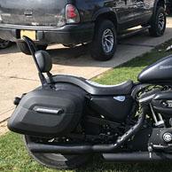 Bryan's '10 Harley-Davidson Sporster Iron 883 w/ Lamellar Hard Saddlebags