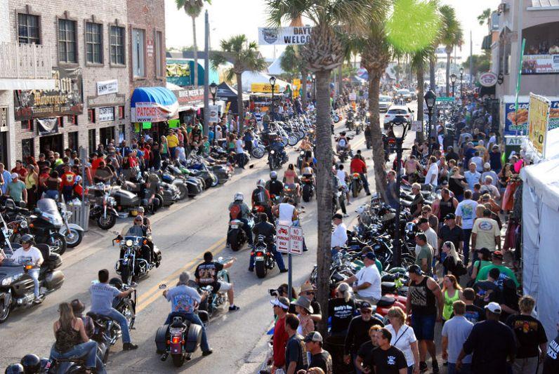 The Daytona Beach Bike Week For 2017