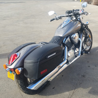 George's Honda VTX 1300 C w/ Motorcycle Hard Saddlebags