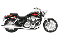 Honda VTX 1800 C Saddlebags