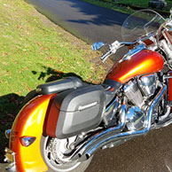 Tony's '05 Honda VTX 1800 N w/ Lamellar Hard Saddlebags