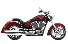 Victory Kingpin Saddlebags