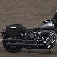 Vince's '16Harley-Davidson Softail Slim S w/ Lamellar Series Hard Motorcycle Saddlebags